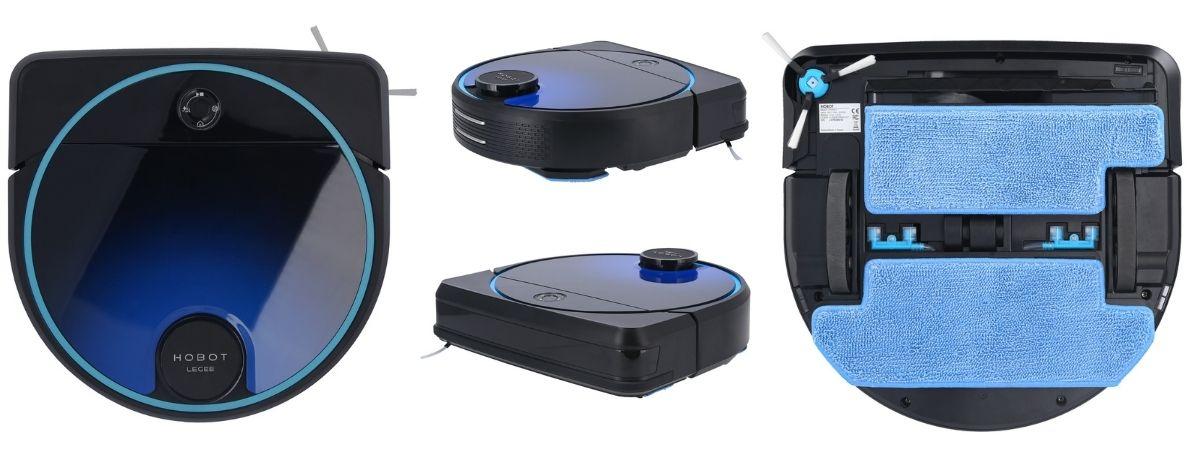 Robot aspirateur et laveur de sol HOBOT Legee 7