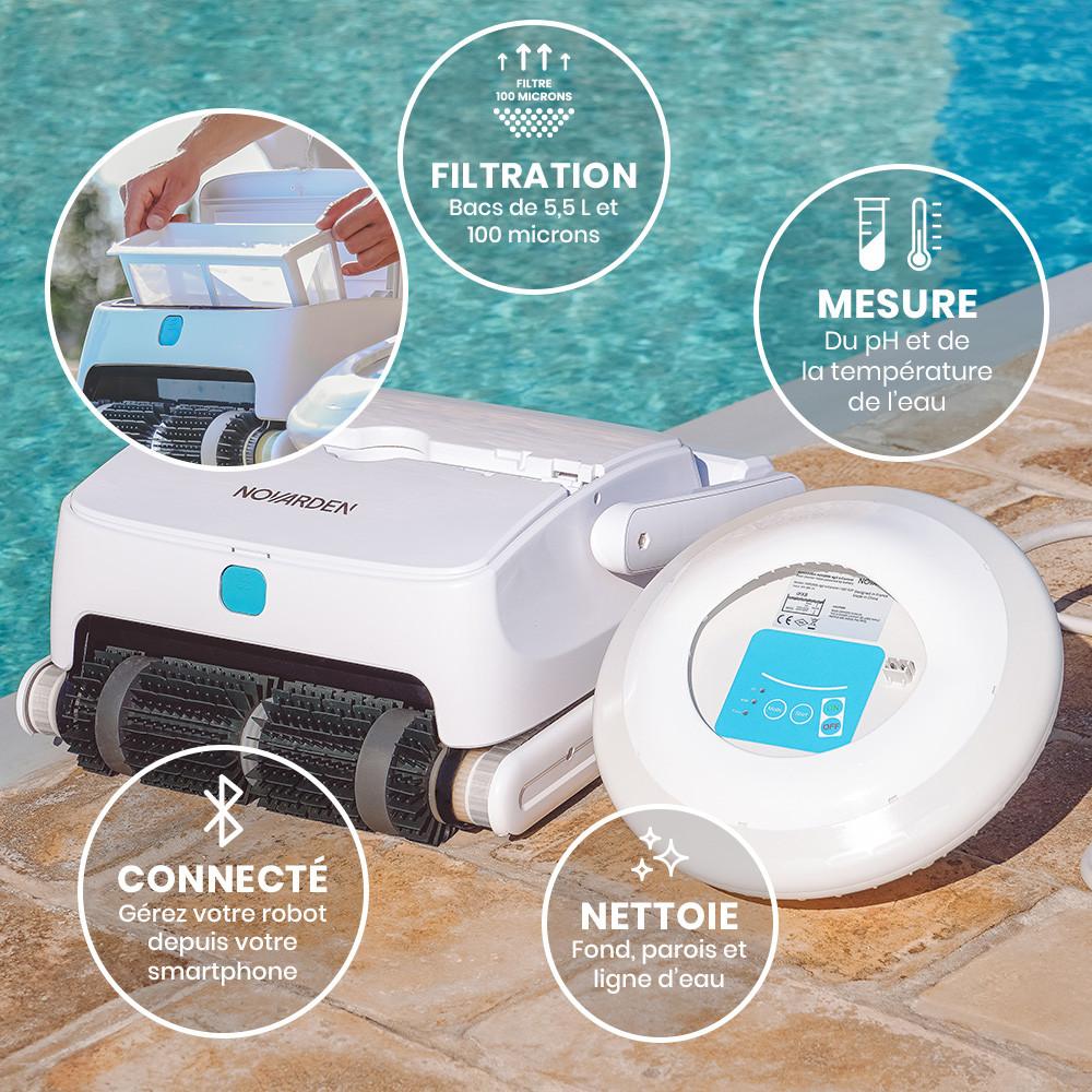 robot piscine capteur pH
