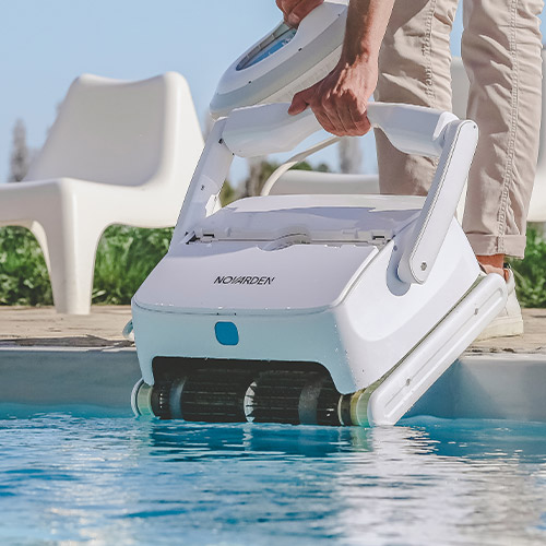 robot piscine sans fil nsr250