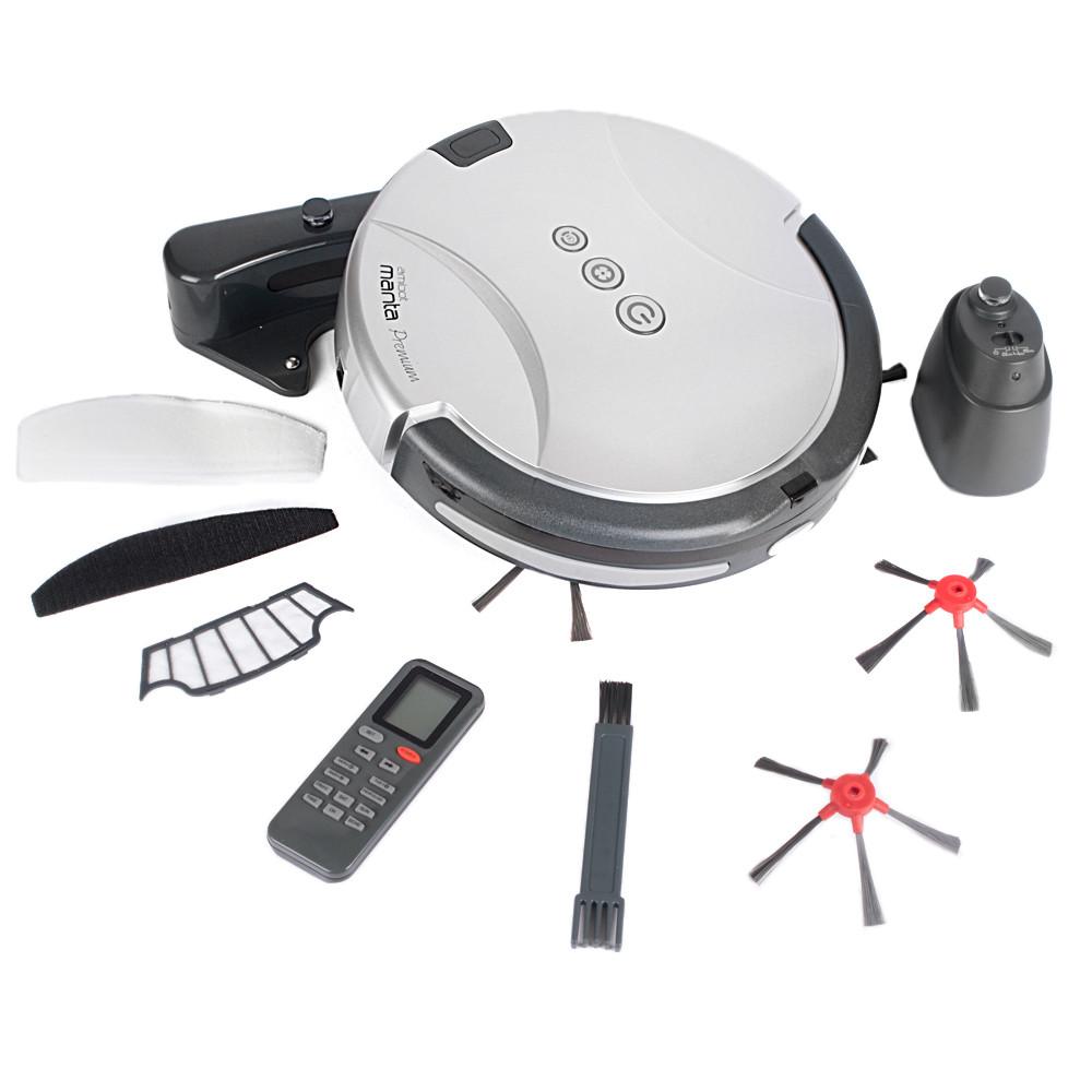 aspirateur robot amibot manta premium bestofrobots. Black Bedroom Furniture Sets. Home Design Ideas