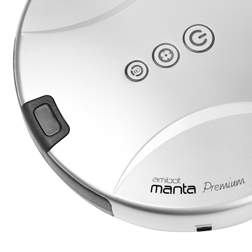 Aspirateur robot AMIBOT Manta Premium BestofRobots