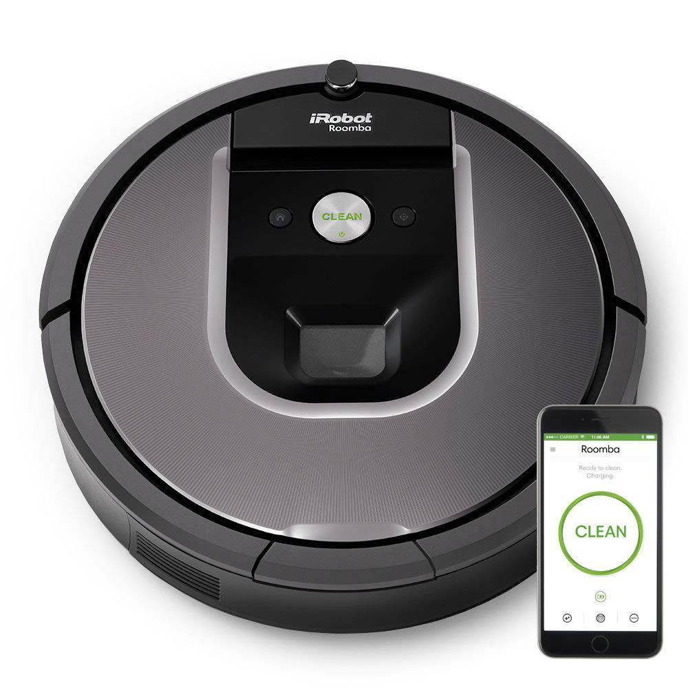 aspirateur robot irobot roomba 960 bestofrobots. Black Bedroom Furniture Sets. Home Design Ideas
