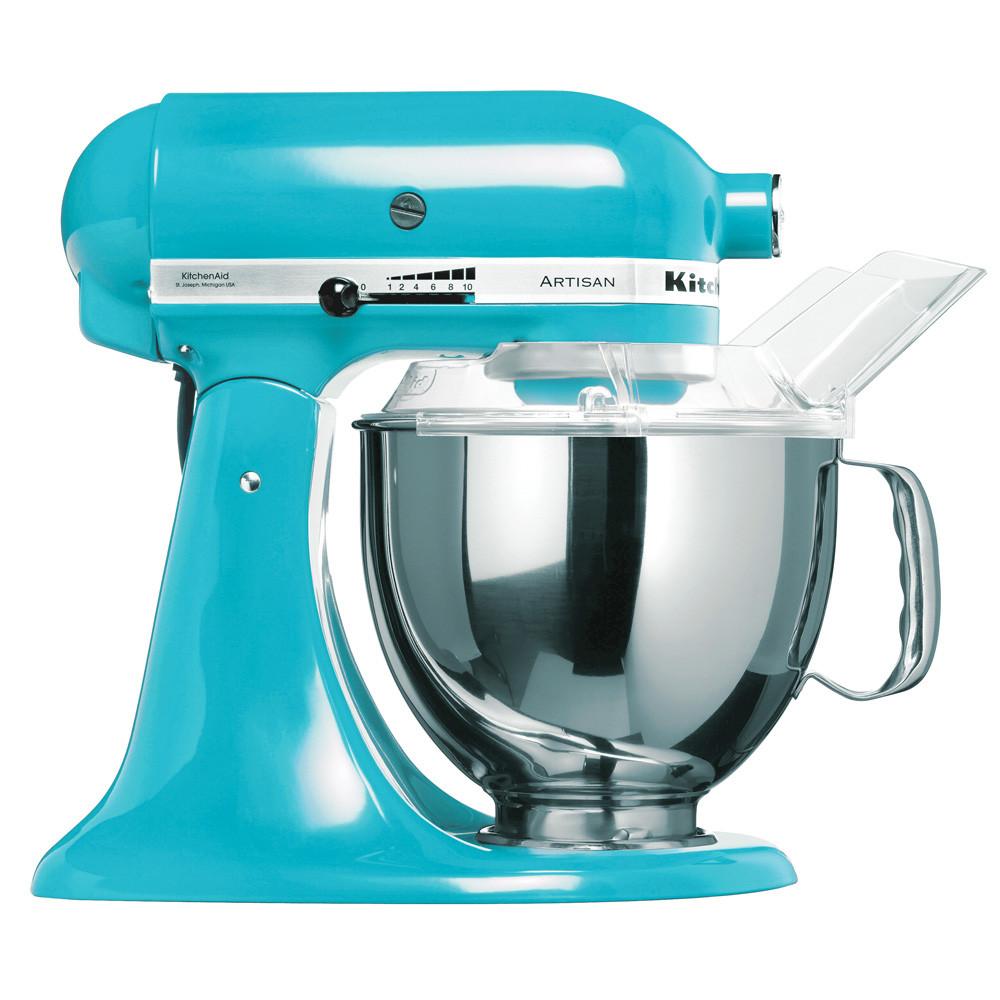 Robot patissier kitchenaid artisan 5ksm150ps ecl bleu for Robot cuisine kitchenaid