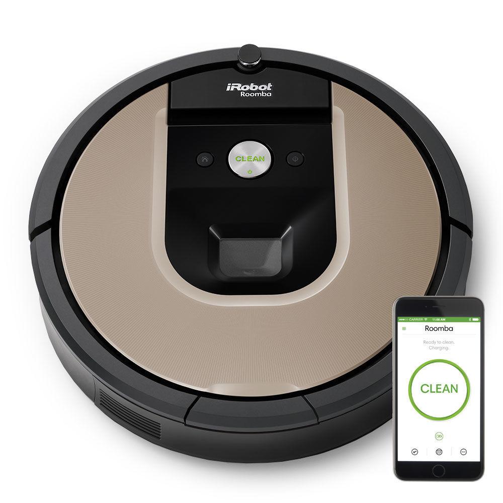 aspirateur robot irobot roomba 966 bestofrobots. Black Bedroom Furniture Sets. Home Design Ideas