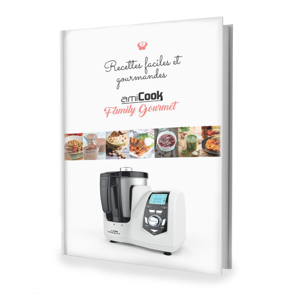 Livre de recettes pour l 39 amicook family gourmet bestofrobots for Livre cuisiner au robot cuiseur