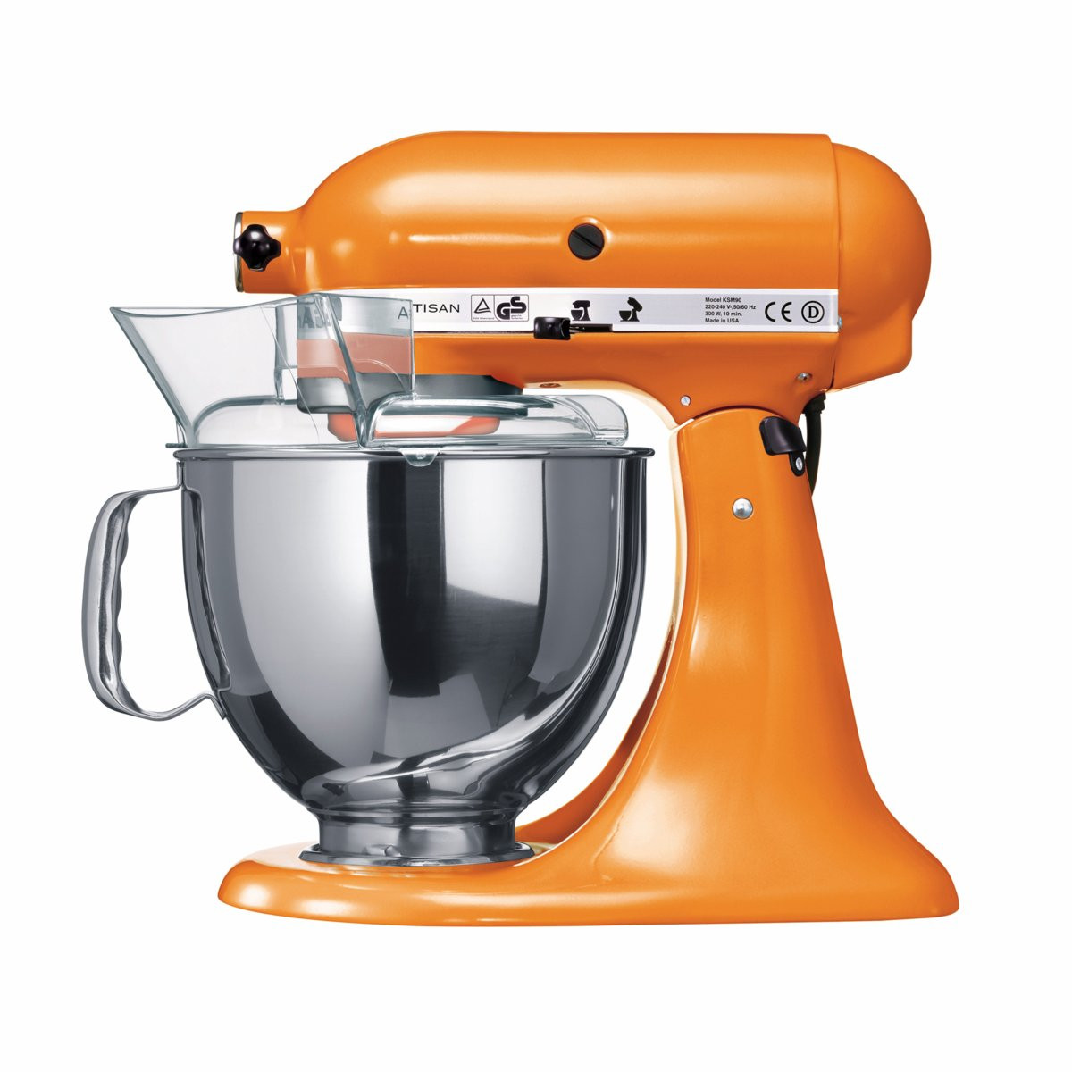 robot patissier kitchenaid artisan 5ksm150ps etg orange bestofrobots. Black Bedroom Furniture Sets. Home Design Ideas