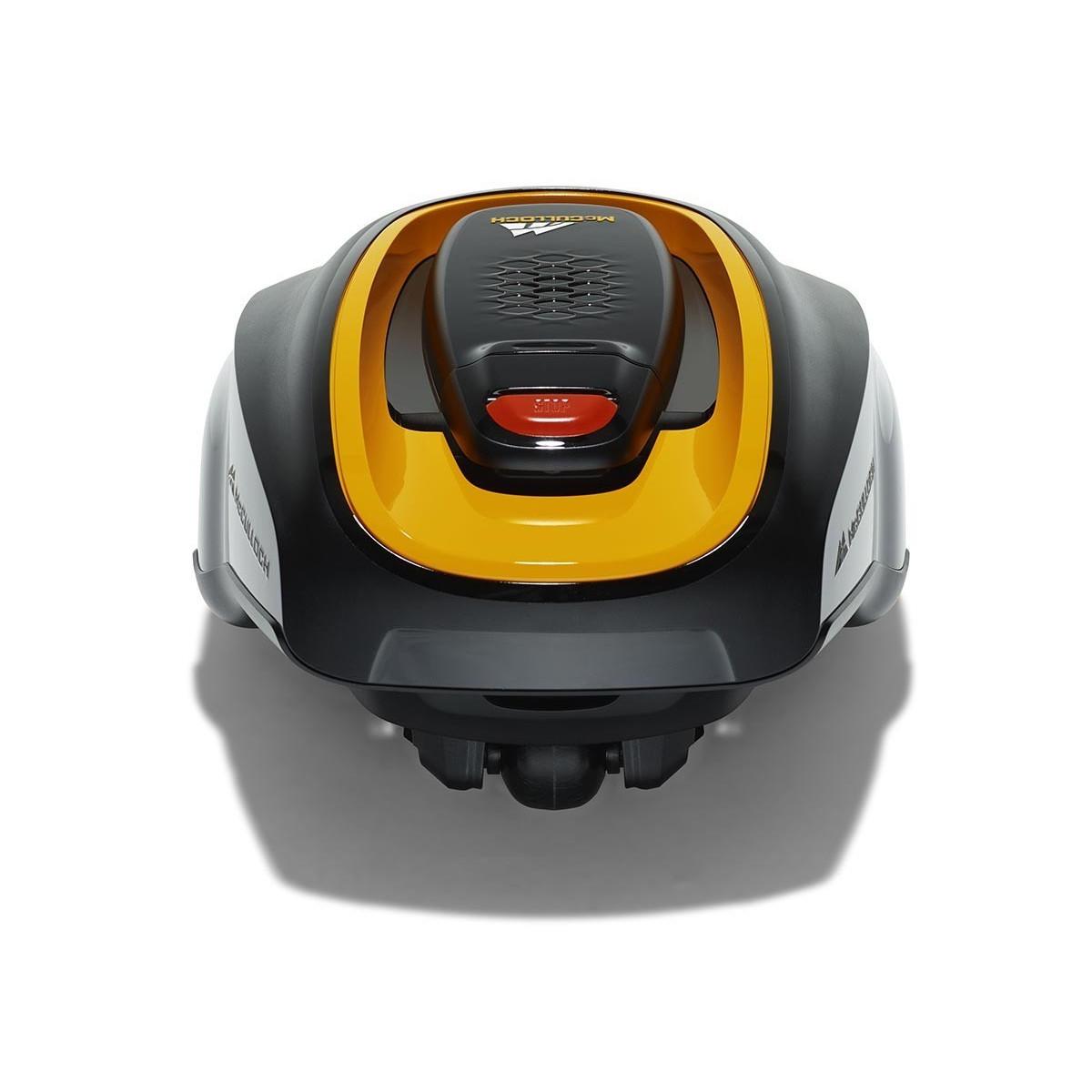 Robot tondeuse mc culloch rob 1000 bestofrobots - Comparatif robot tondeuse ...