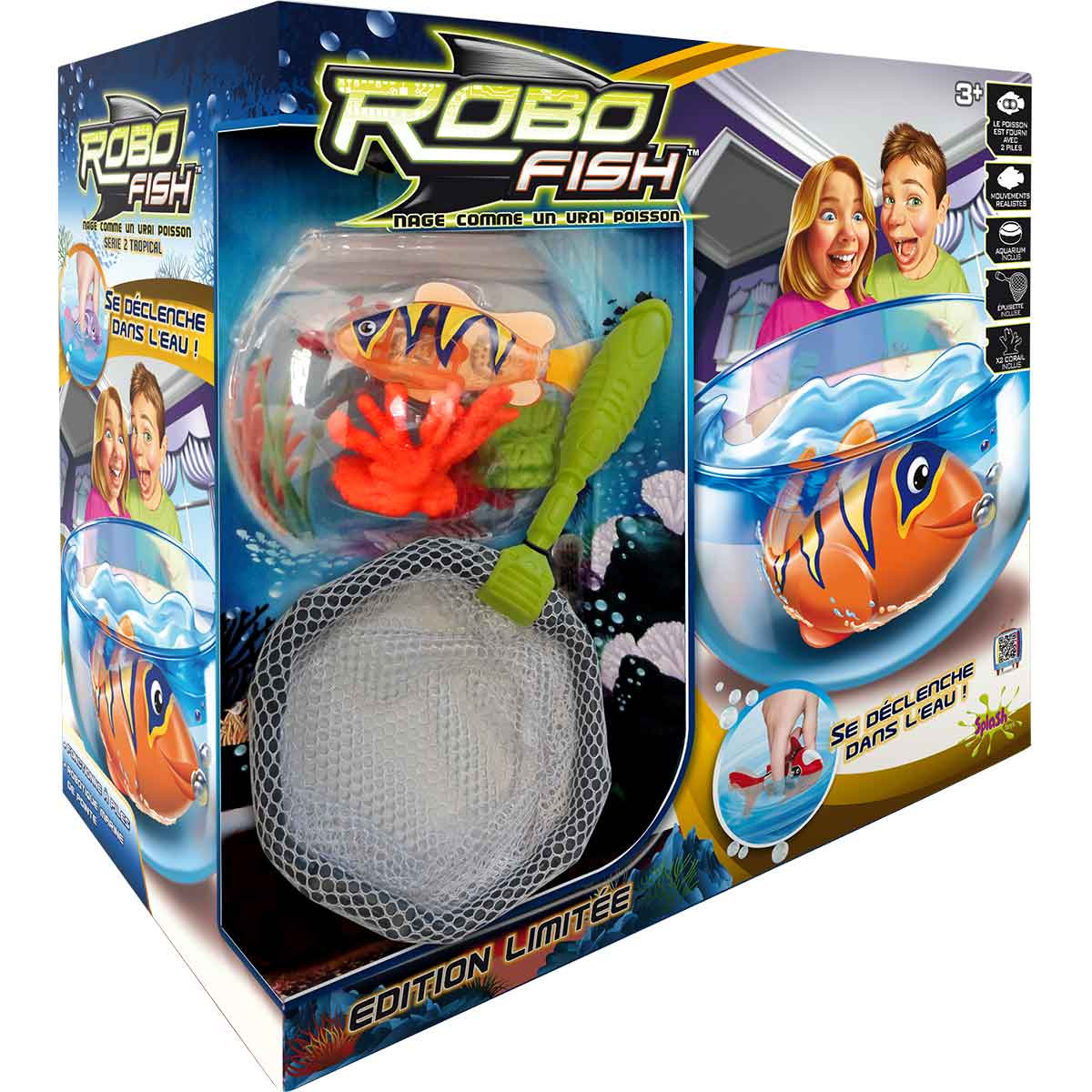 robo fish avec aquarium tropical bestofrobots