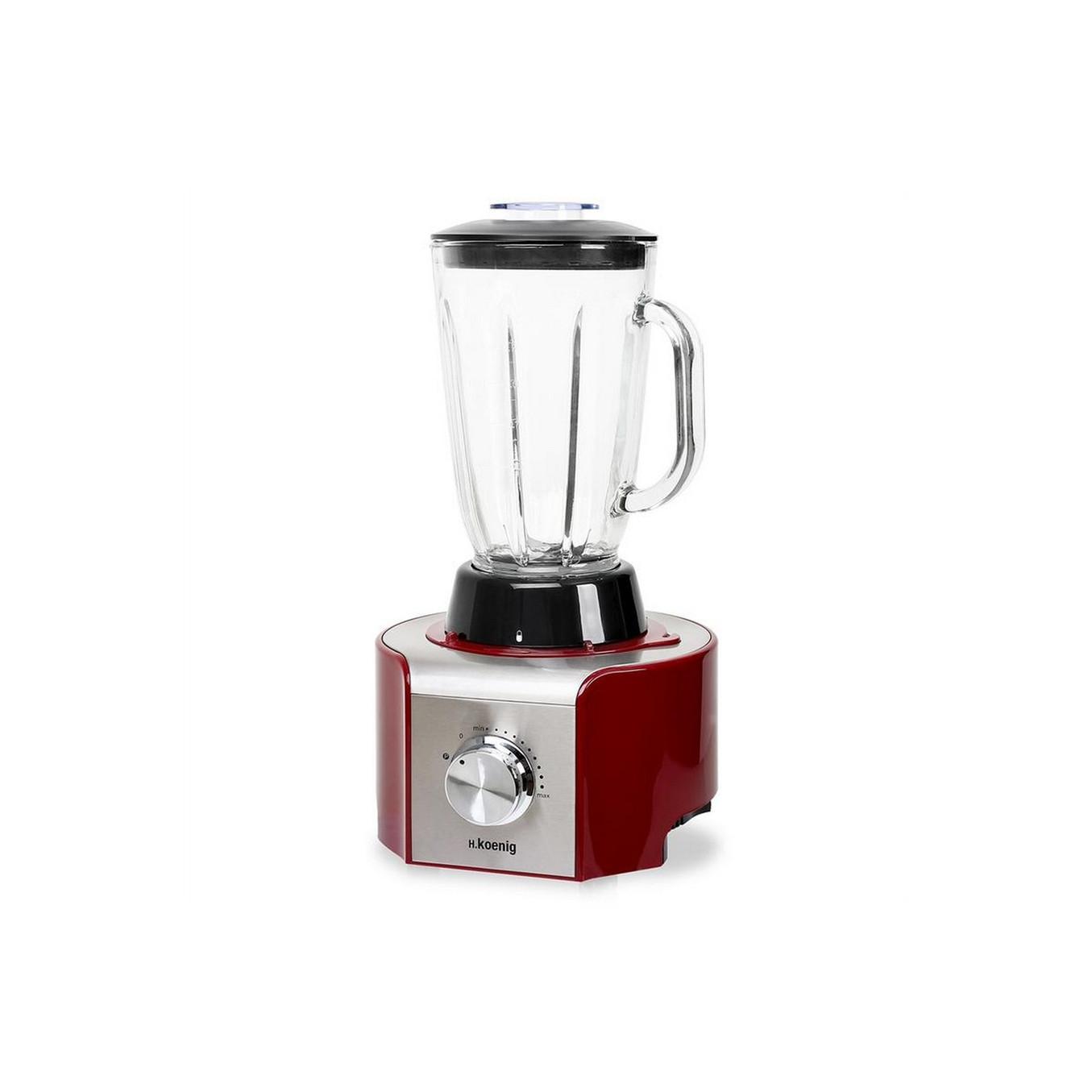 Robot multifonctions h koenig mx18xt rouge bestofrobots - Robot cuisine comparatif ...