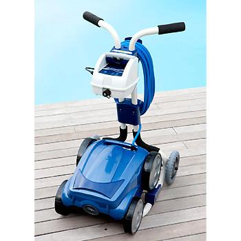 Robot de piscine zodiac vortex 3 chariot bestofrobots for Robot piscine zodiac vortex