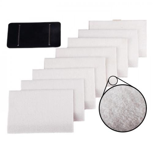 Kit de 8 lingettes nettoyantes et absorbantes pour ROOMBA