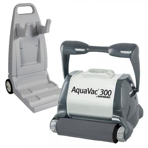 Hayward Aquavac 300 - Brosse Mousse + Chariot