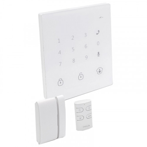 CHACON Système d'alarme GSM/SMS sans fil tactile