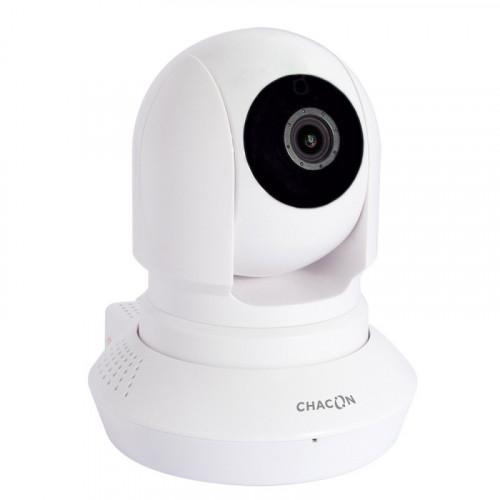 CHACON Caméra de surveillance WiFi HD motorisée
