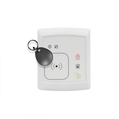Clavier intérieur et extérieur à badge compatible NFC MYFOX