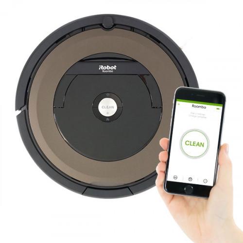 aspirateur robot irobot roomba 895 bestofrobots. Black Bedroom Furniture Sets. Home Design Ideas