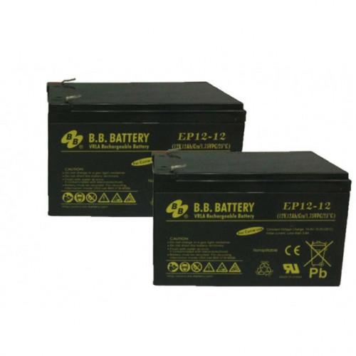 2 batteries pour ROBOMOW RM