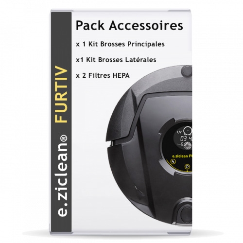 Pack accessoires E.ZICLEAN Furtiv