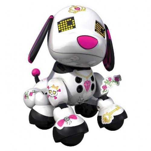 Robot Chien SPINMASTER Mini Zoomer Zuppies Scarlet
