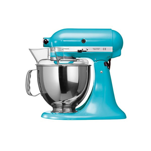 robot patissier kitchenaid artisan 5ksm150ps ecl bleu