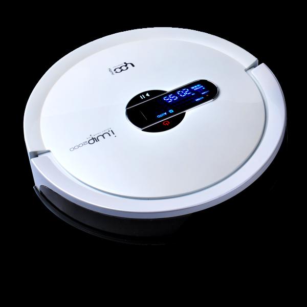 Robot aspirateur Yoo Digital IWIP 2000 avec ses accessoires