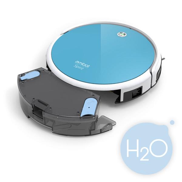 robot aspirateur et laveur amibot spirit h2o bestofrobots. Black Bedroom Furniture Sets. Home Design Ideas