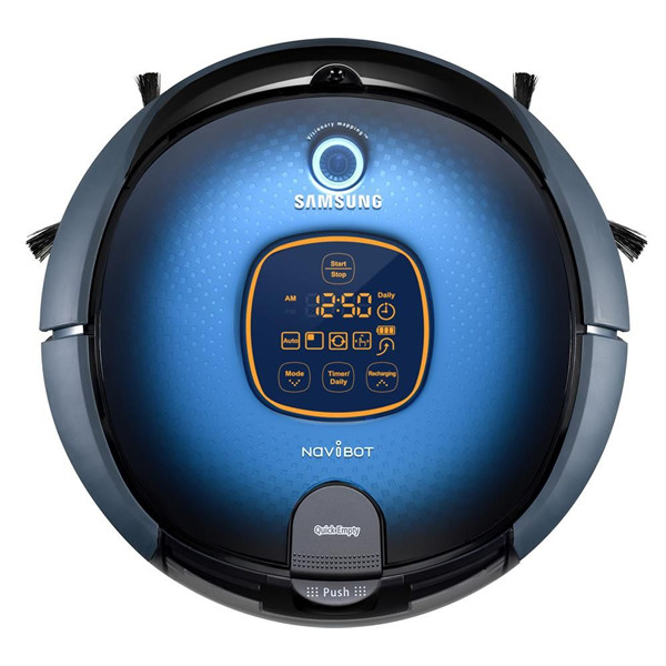 aspirateur robot samsung navibot sr8855 bestofrobots. Black Bedroom Furniture Sets. Home Design Ideas