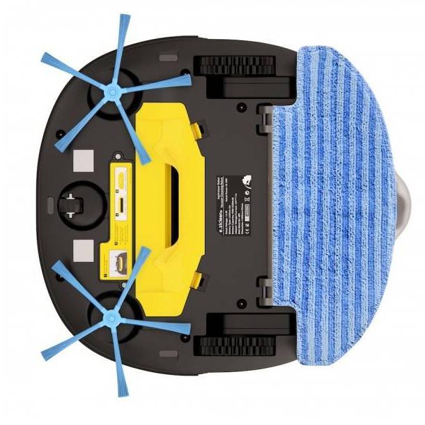 robot aspirateur laveur e zicom sweepy pets bestofrobots. Black Bedroom Furniture Sets. Home Design Ideas