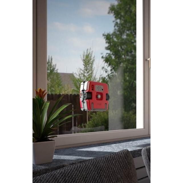 robot laveur de vitre e ziclean windoro rouge simple vitrage bestofrobots. Black Bedroom Furniture Sets. Home Design Ideas