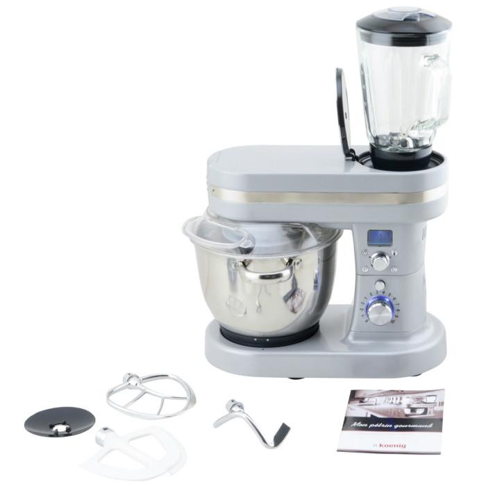 Robot cuiseur h koenig kmc90 silver bestofrobots for Comparatif robot cuisine