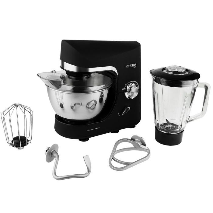 Robot p tissier amicook kr200 noir avec blender bestofrobots for Comparatif robot cuisine