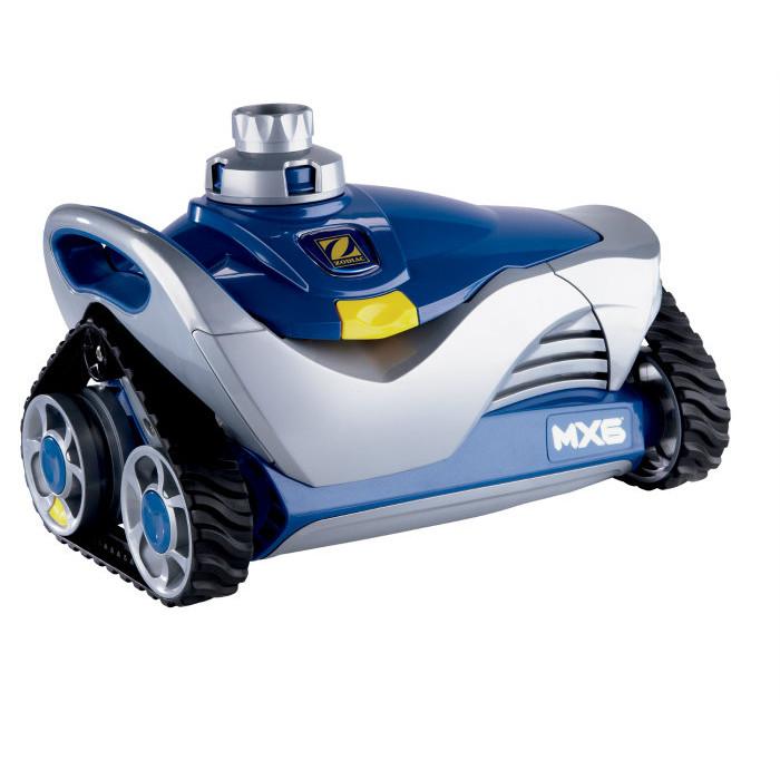 Robot de piscine zodiac baracuda mx6 bestofrobots for Robot piscine zodiac