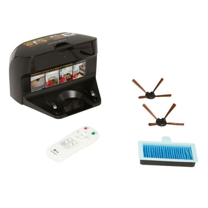 aspirateur robotlg hom bot vr1010gr bestofrobots. Black Bedroom Furniture Sets. Home Design Ideas