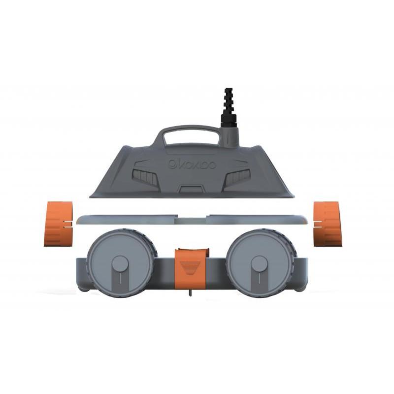 robot de piscine lectrique drakbot kokido bestofrobots. Black Bedroom Furniture Sets. Home Design Ideas