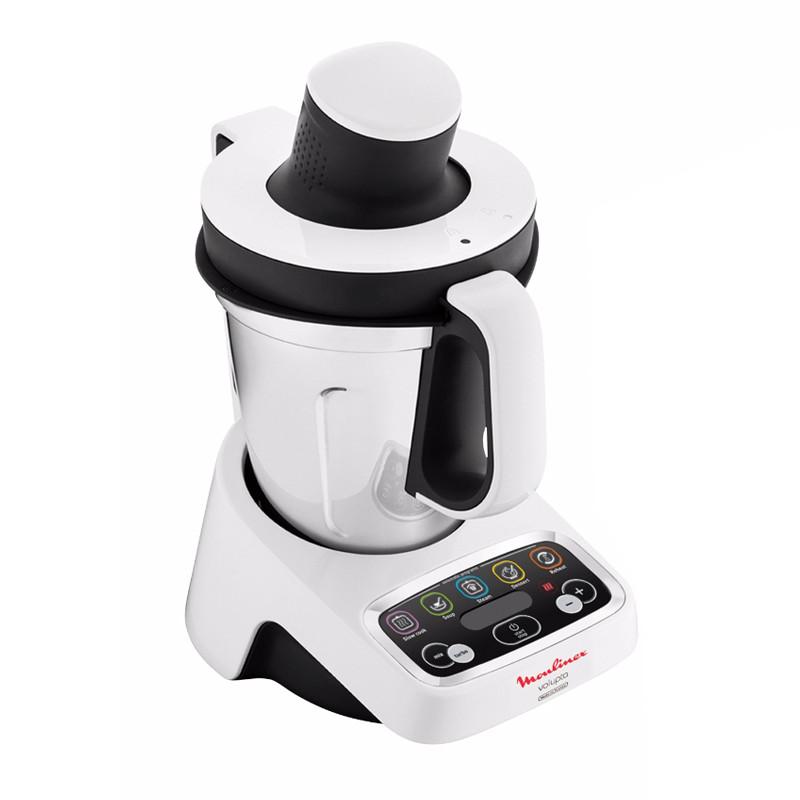 Robot cuiseur multifonctions moulinex volupta hf404110 bestofrobots - Robot de cuisine qui cuit ...