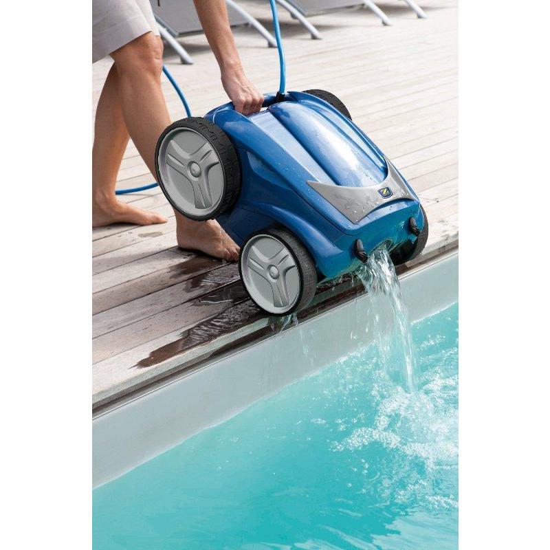 Robot de piscine zodiac vortex 4 chariot bestofrobots for Test robot piscine