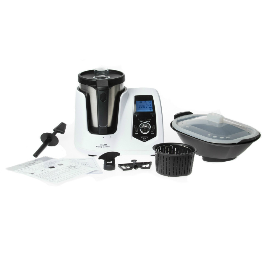 Robot cuiseur multifonctions amicook family gourmet for Robot cuisine multifonction thermomix