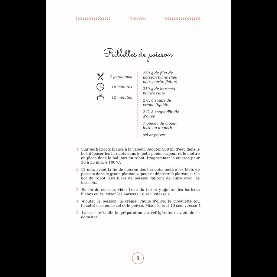 Livre de recettes pour l 39 amicook family gourmet bestofrobots - Livre de recette pour robot multifonction cuiseur ...