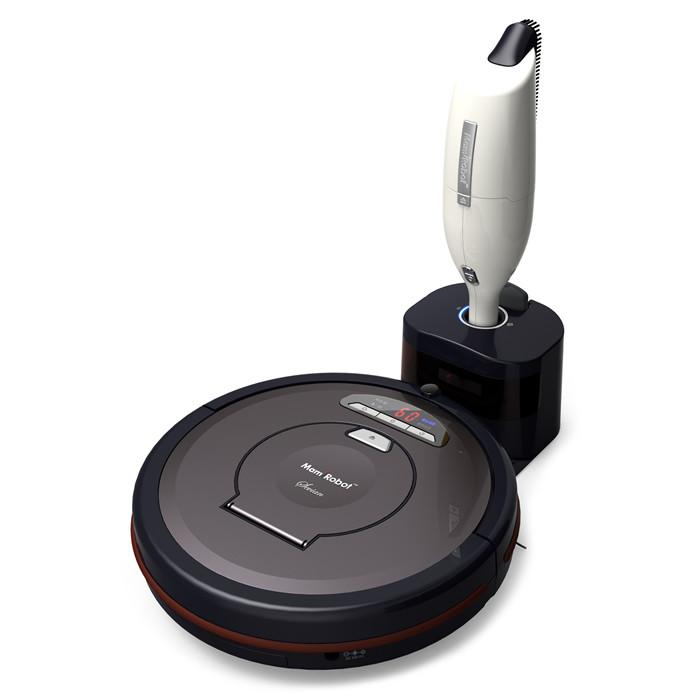 aspirateur robot mamirobot sevian k7 titanium bestofrobots. Black Bedroom Furniture Sets. Home Design Ideas