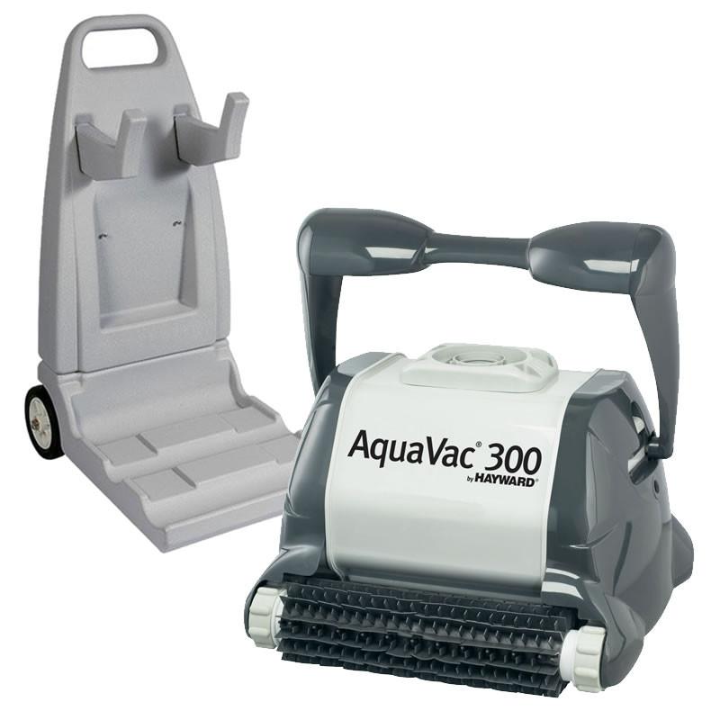 robot piscine hayward aquavac 300 picots chariot bestofrobots. Black Bedroom Furniture Sets. Home Design Ideas