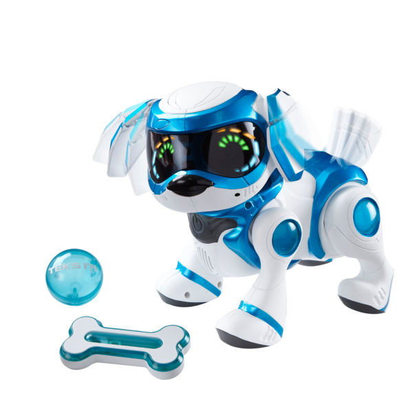Toys For Robots : Robot chien splash toys teksta puppy bleu bestofrobots