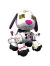 Robot Chien SPINMASTER Mini Zoomer Zuppies Scarlet