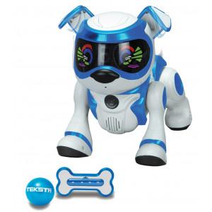 Robot jouet teksta Puppy Bleu