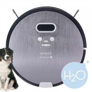 Robot aspirateur et laveur AMIBOT Animal H2O A000784