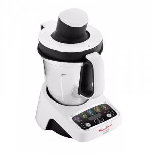 Robot cuiseur MOULINEX Volupta HF404110 vue de profil