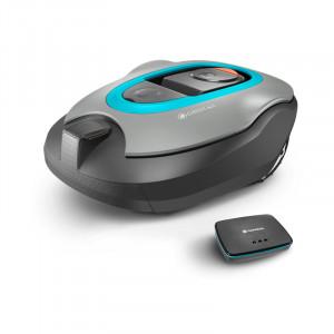 Robot tondeuse GARDENA Smart SILENO + vue principale