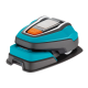 Robot tondeuse Gardena R50Li - Et sa base de chargement