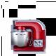 Cookyoo 7000 rouge - Vue de coté