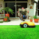 robot tondeuse ROBOMOW RL555 - Dans jardin