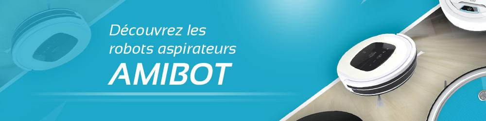 robots aspirateur AMIBOT
